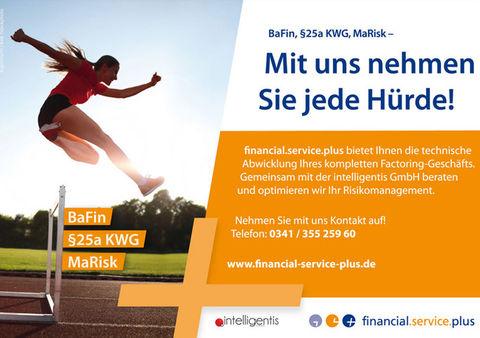 Print-Anzeige für die financial.service.plus GmbH