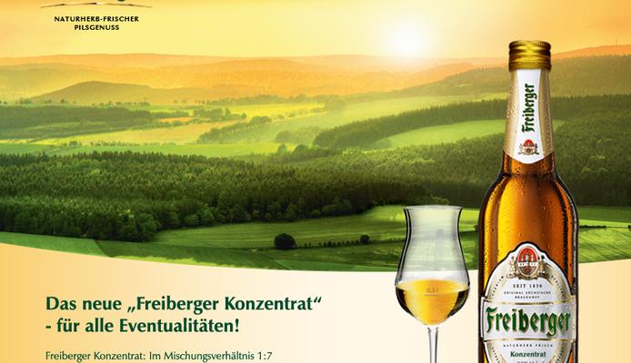 Aprilscherz der Marke Freiberger Pils auf facebook 2012