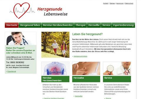 Themenwebsite für die TRUW Arzneimittel GmbH
