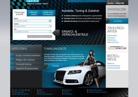 Launch Autoteile-Shop für Car-Profi 2000 mit Schnittstellen zu TecDoc und Afterbuy