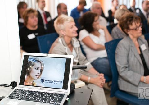 Beginn des Vortrages zum Employer Branding