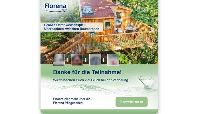Florena Facebook App - Danke