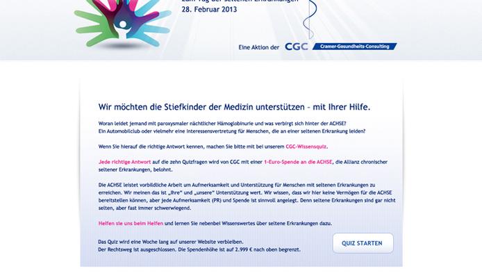 CGC Charity Online-Quiz