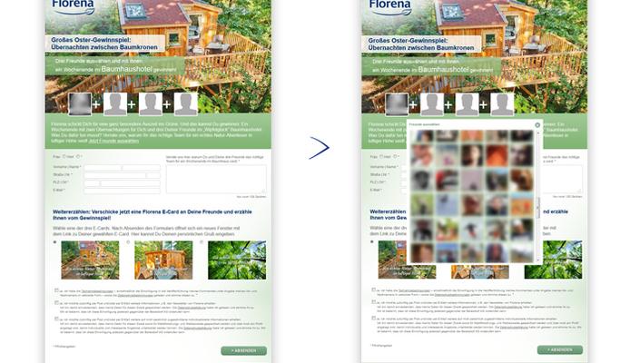 Florena Facebook App