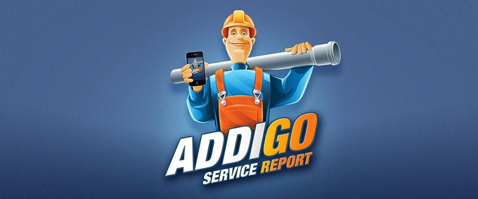 Addigo Service Report App