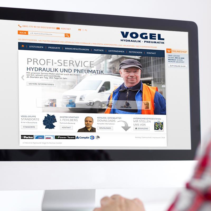 Startseite Website Vogel Gruppe