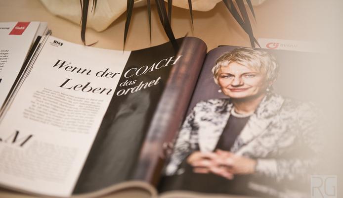 Frau Dr. Ulla Nagel in einem Presseartikel zum Thema Burnout