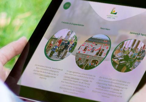 Responsive Website Jugendgästehaus Liebethal