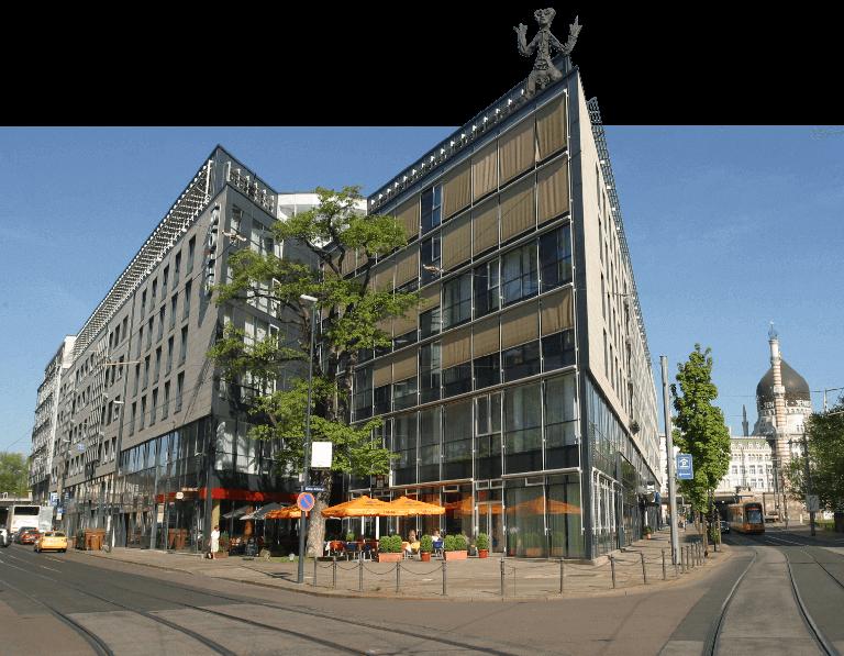 Unsere Agentur mit Sitz im Bürohaus Maxstraße Dresden art`bureau