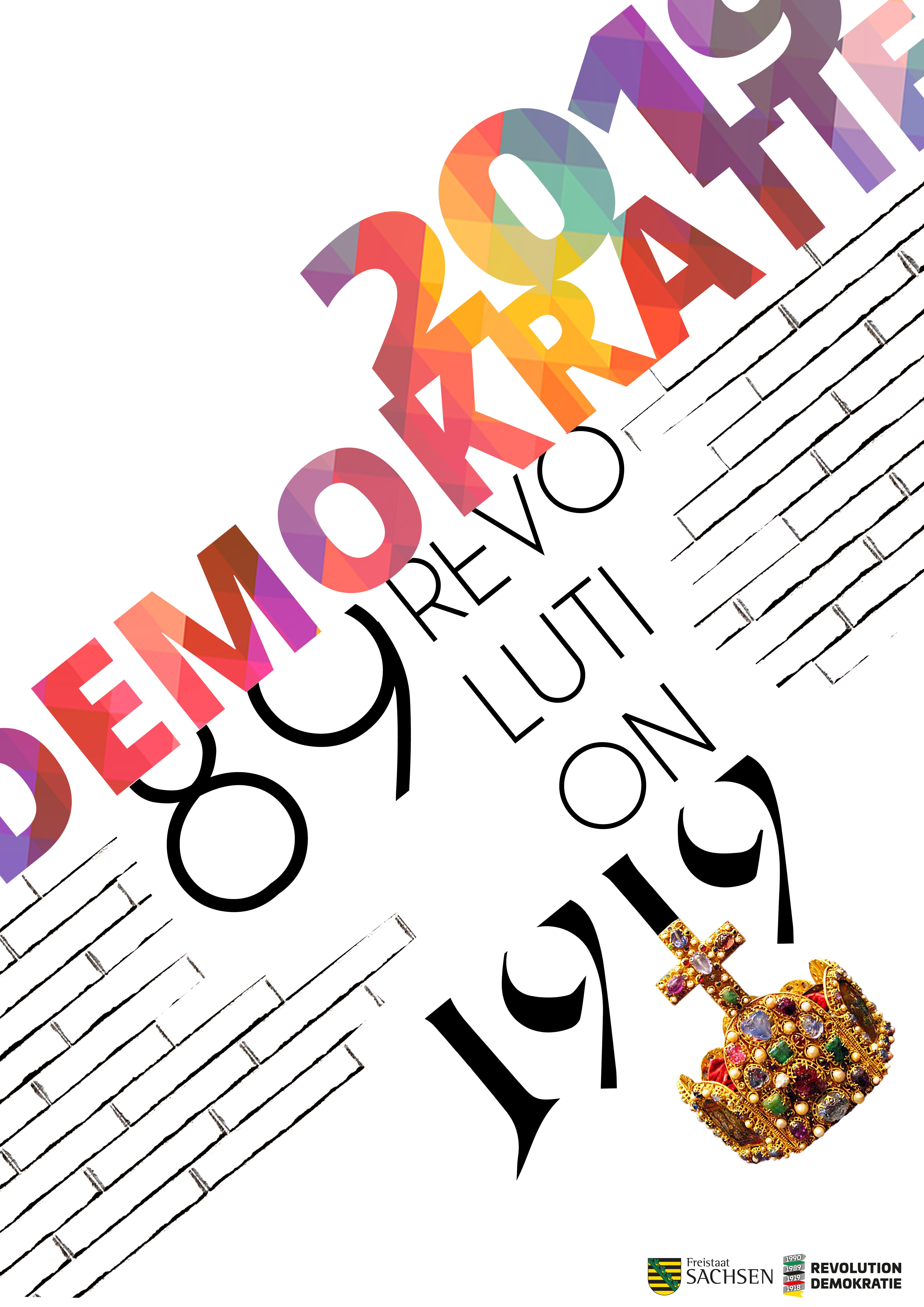 Plakatwettbewerb Sachsen - Deutscher Tele Markt