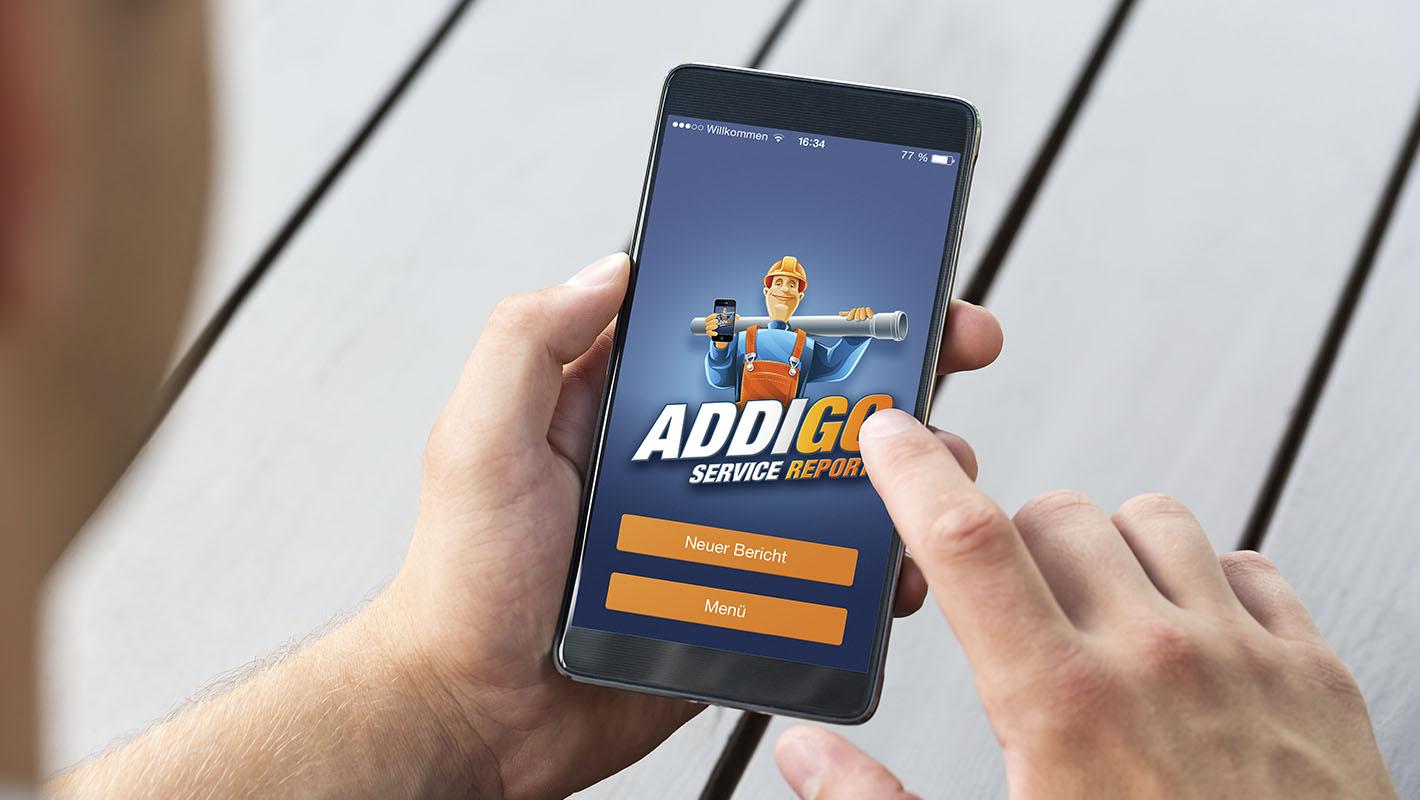 App Addigo Service Report