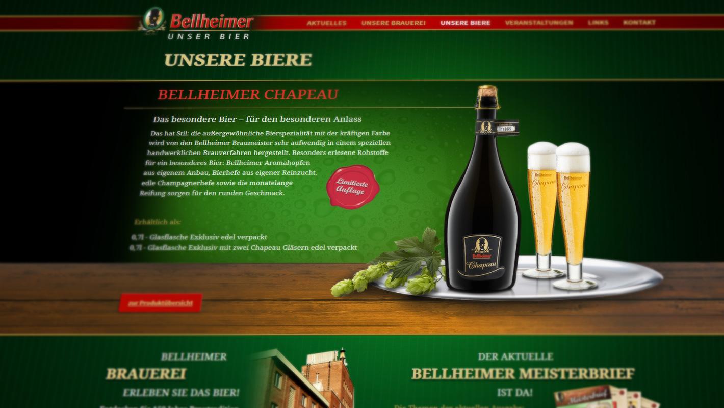 Responsive Webdesign Bellheimer