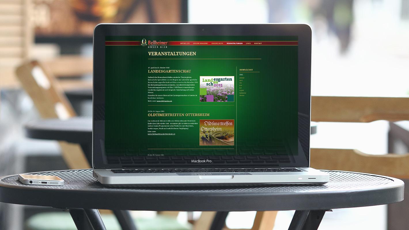 Webdesign Bellheimer