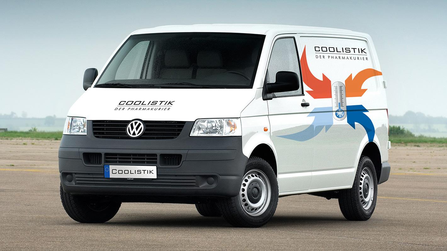 Corporate Design Fahrzeugbeklebung Coolistik