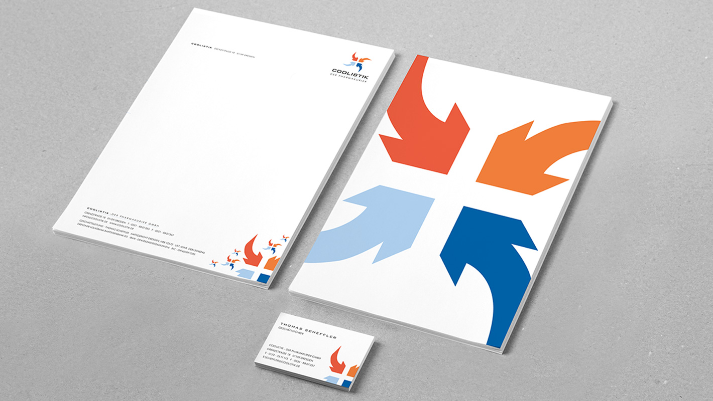 Corporate Design Geschäftsausstattung Coolistik