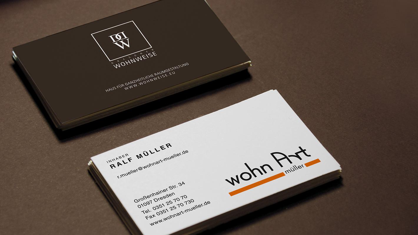 Corporate Design Dresdner Wohnweise