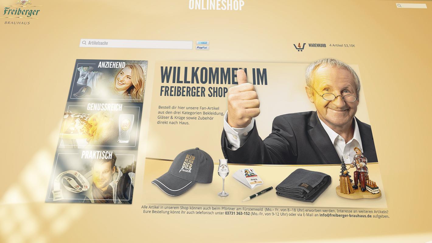 Webshop Freiberger Brauhaus