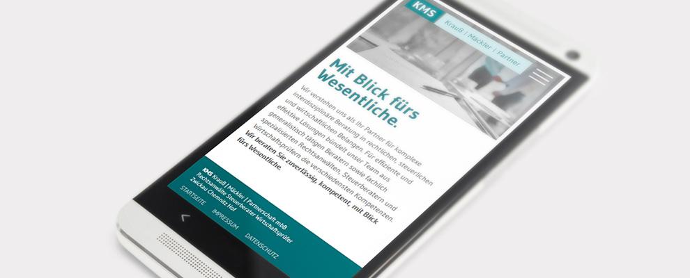 KMS Mobile Website