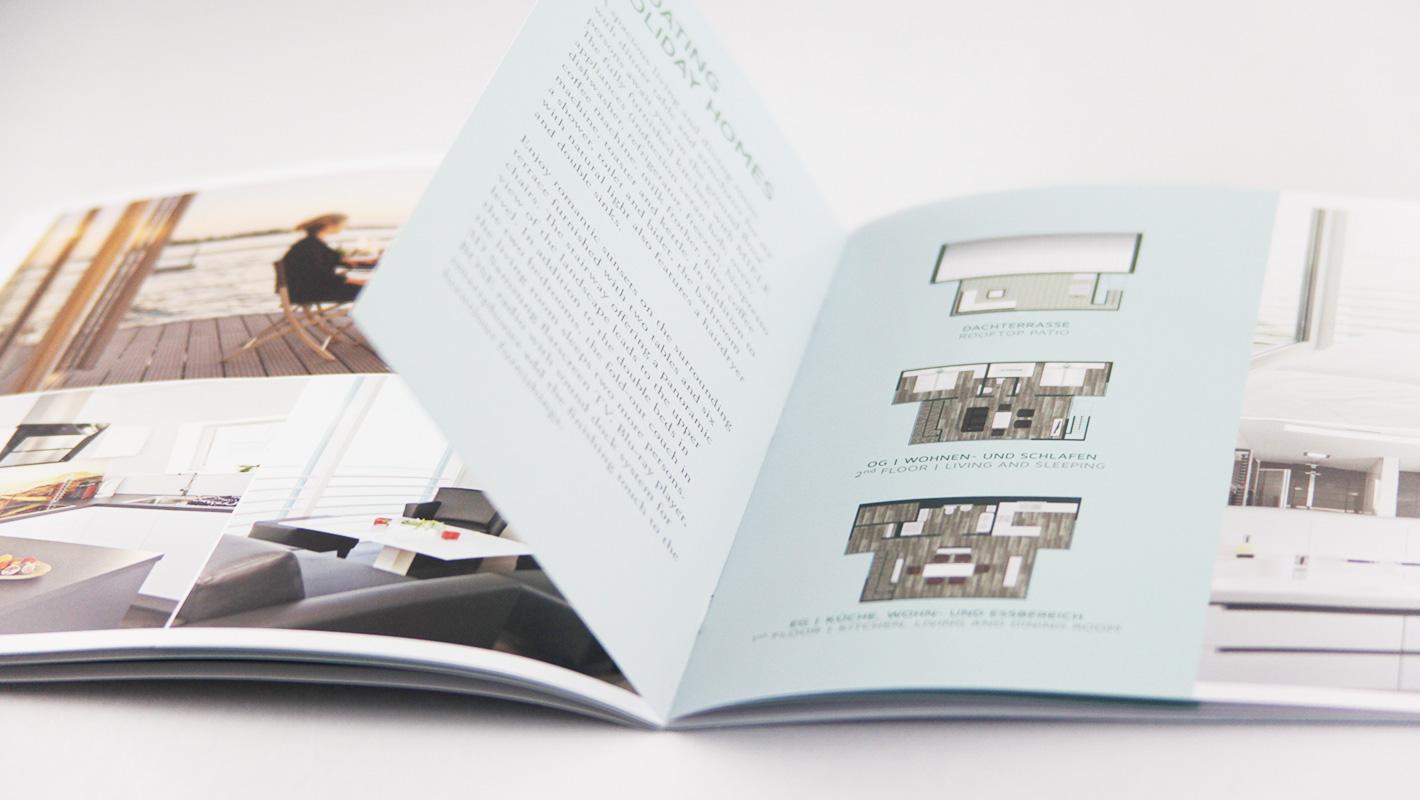 Broschüre Print Lausitzer Seenland Resort