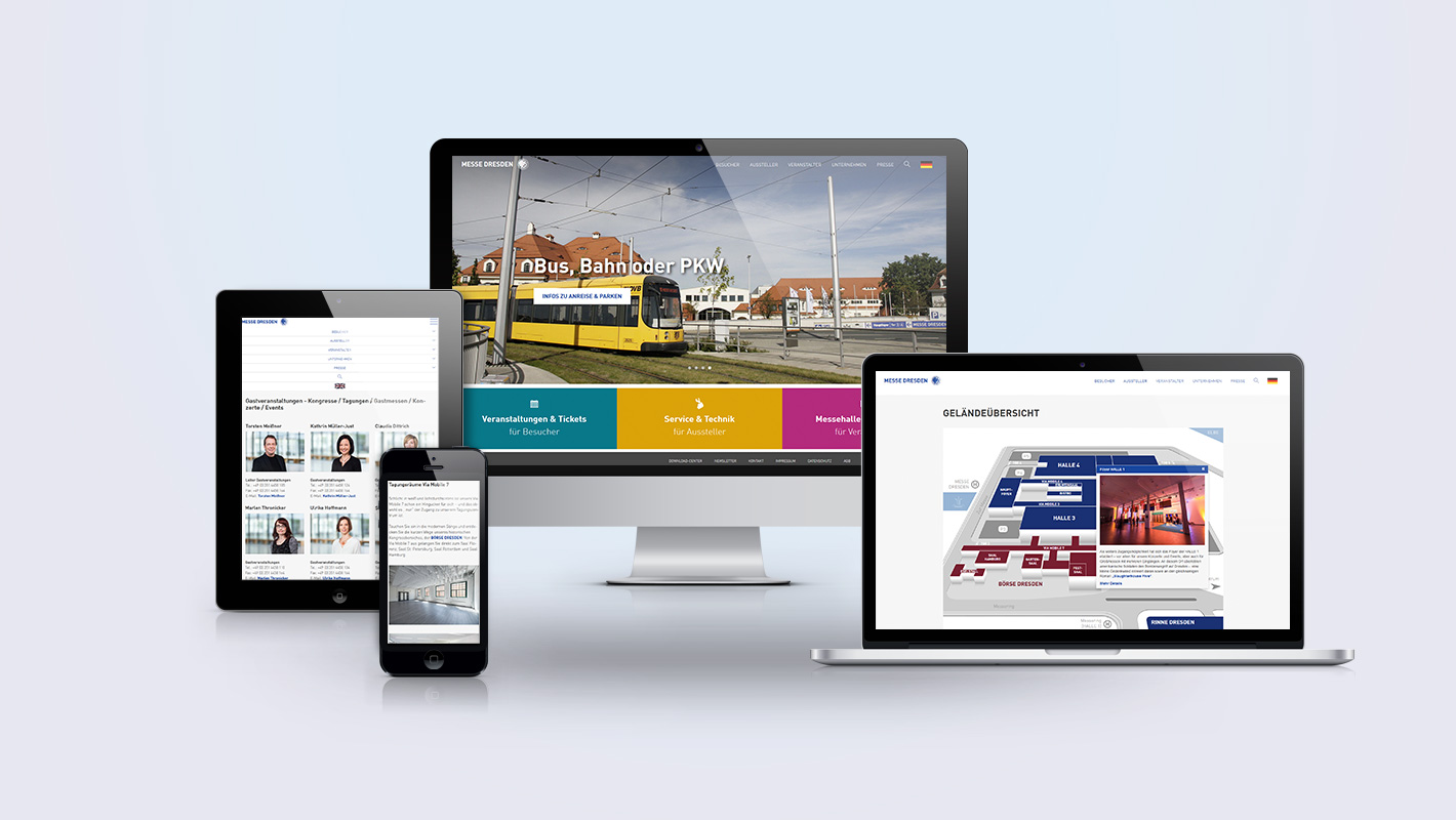 Website Messe Dresden