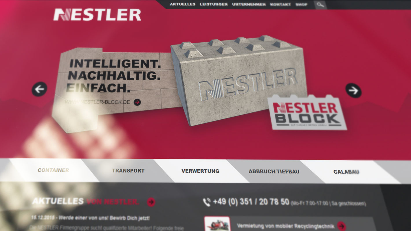 Neue Website Nestler