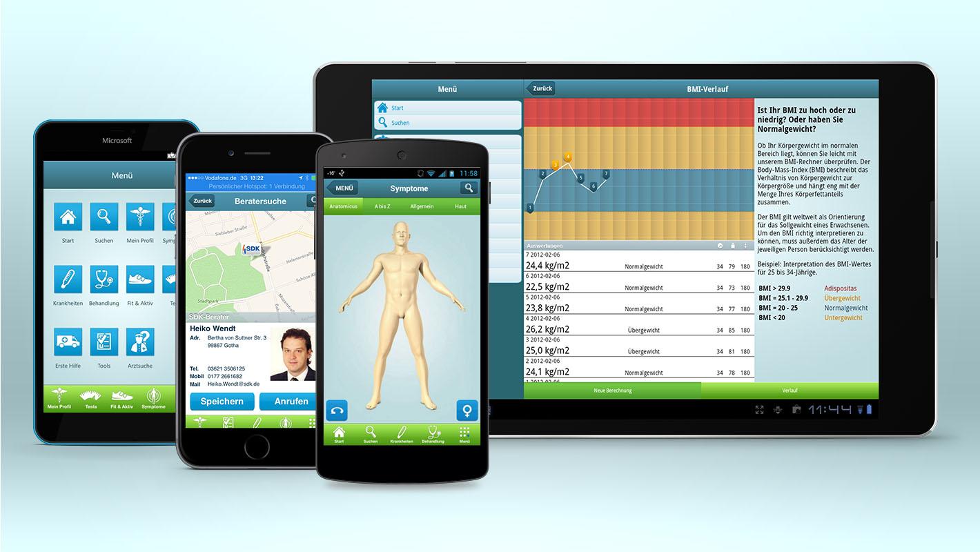 Gesundheits-App Onemeda