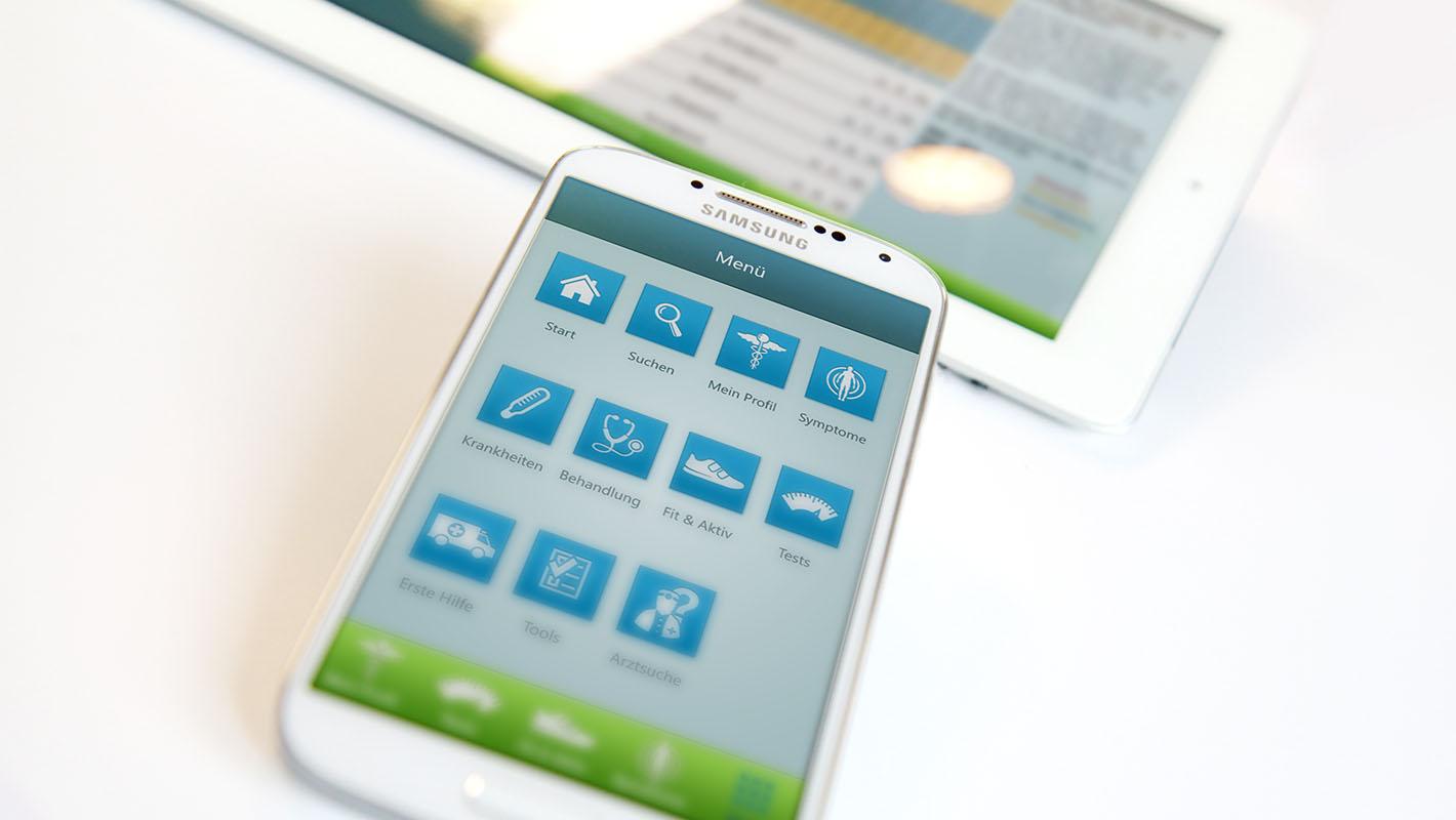 Gesundheits-App Onmeda