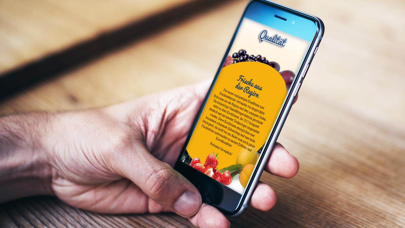 Rokoma Website Responsive mobil