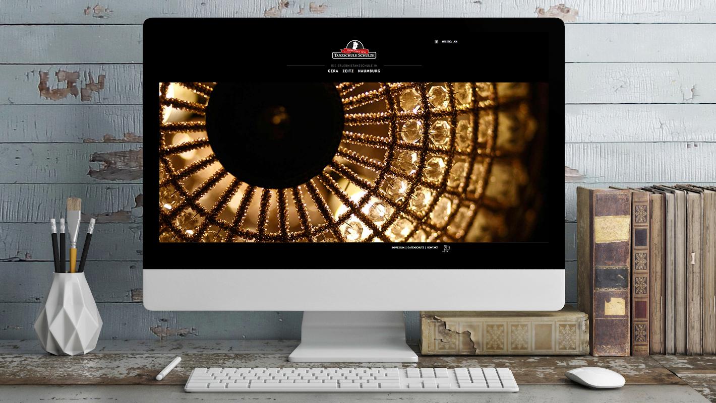 Tanzschule Schulze Website Startseite