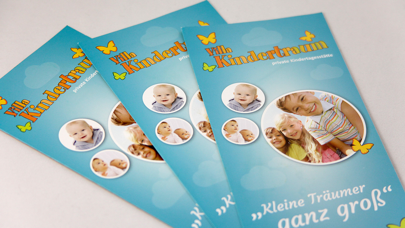 Flyer Print Villa Kindertraum
