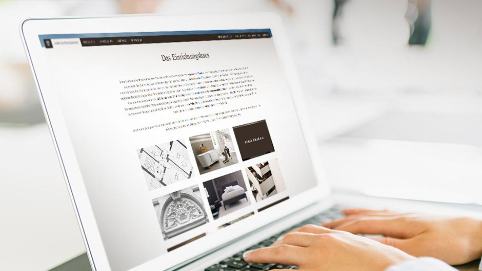 Responsive Website Dresdner Wohnweise
