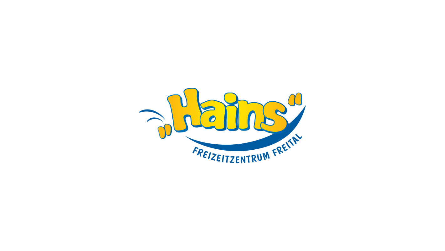Corporate Design Logo Hains Freital
