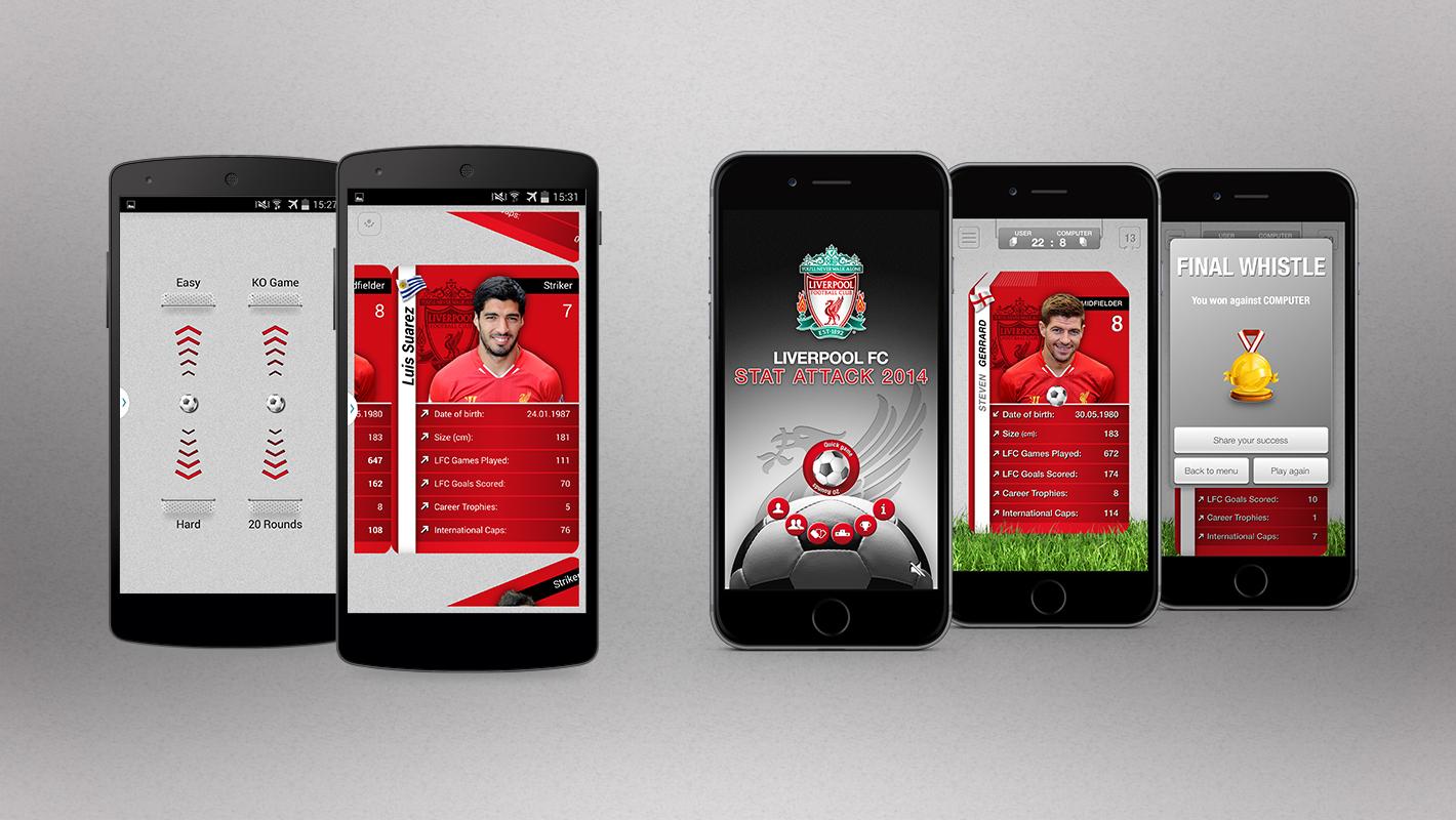 Liverpool FC App StatAttack