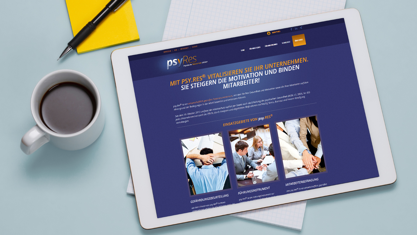 Mobile Website psy.res