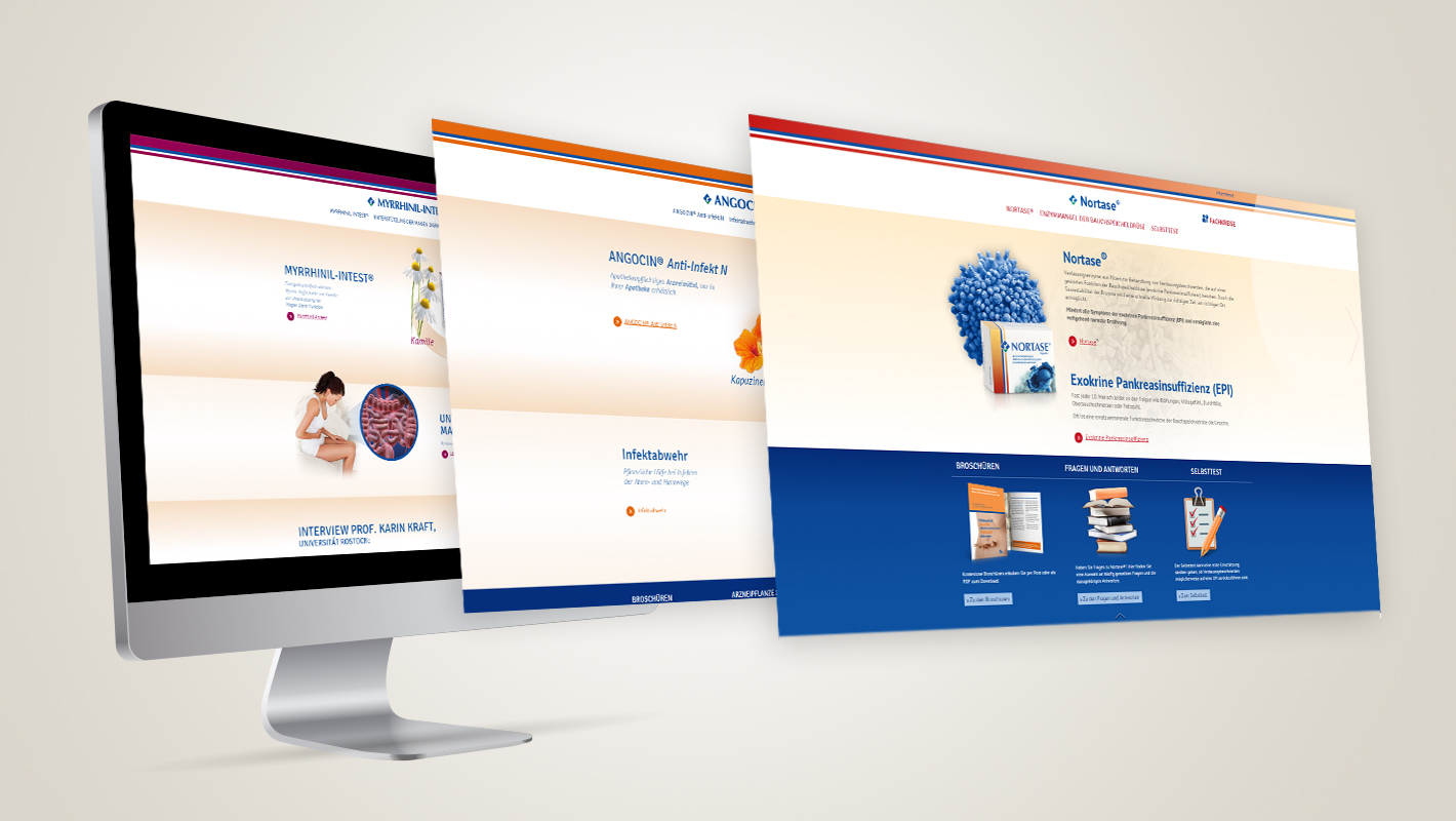 Produktwebsites Repha