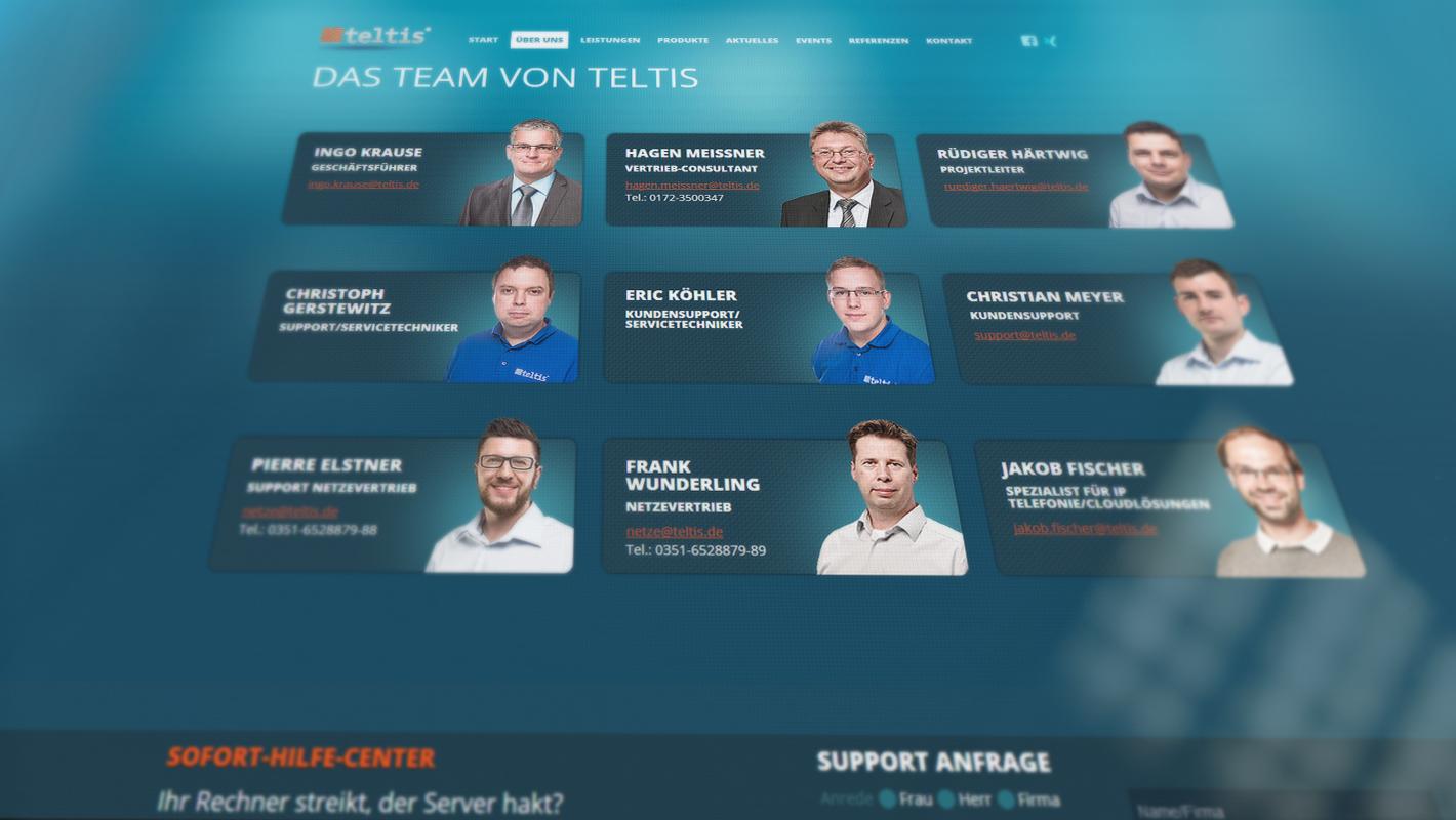 Teltis Responsive Website Team