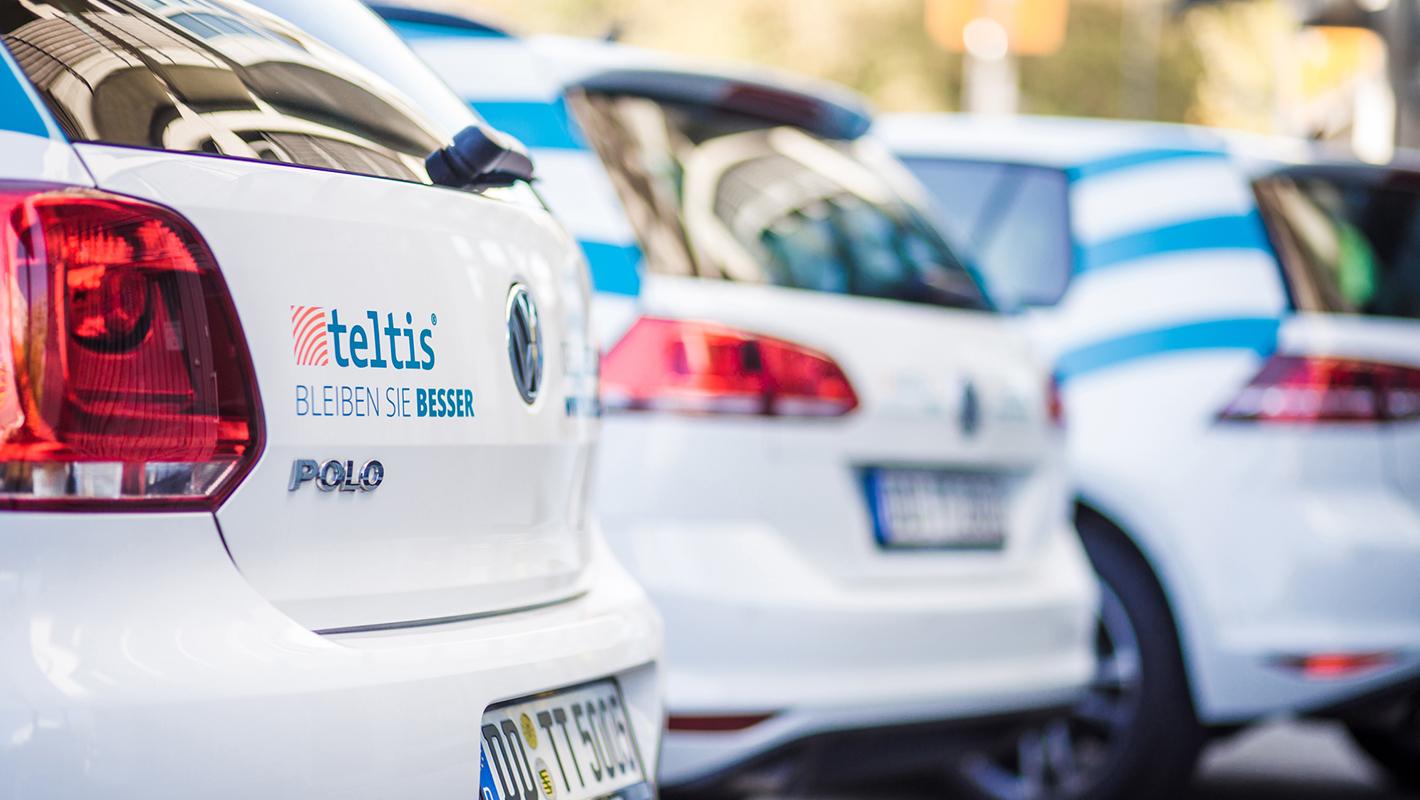 Teltis Responsive Fahrzeug Beklebung KFZ