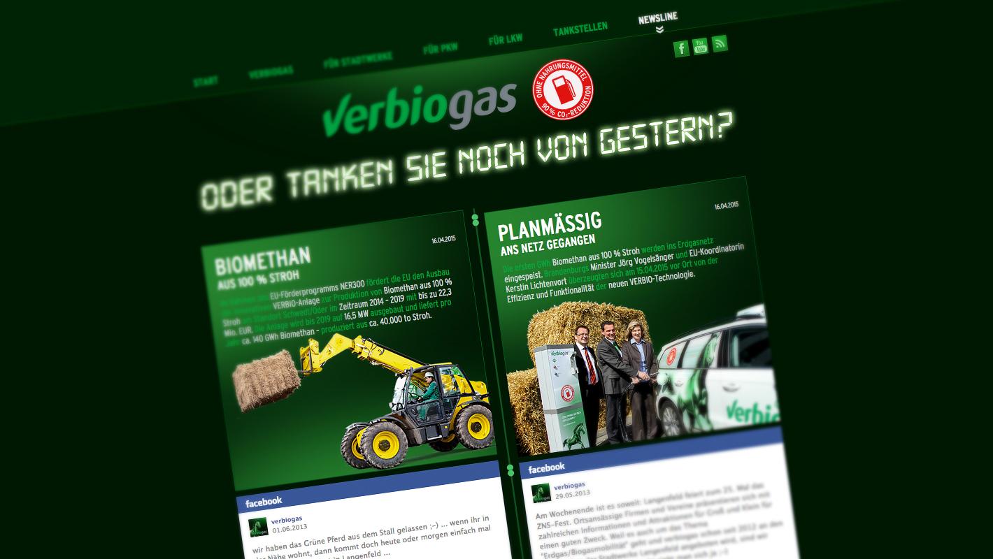 Responsive Website Verbiogas