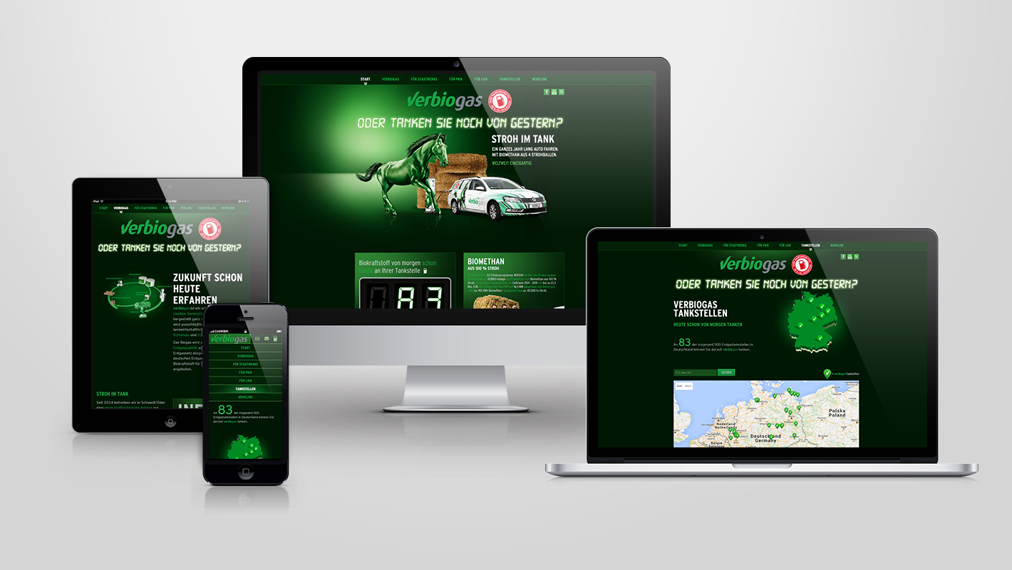 Responsive Webdesign Verbio