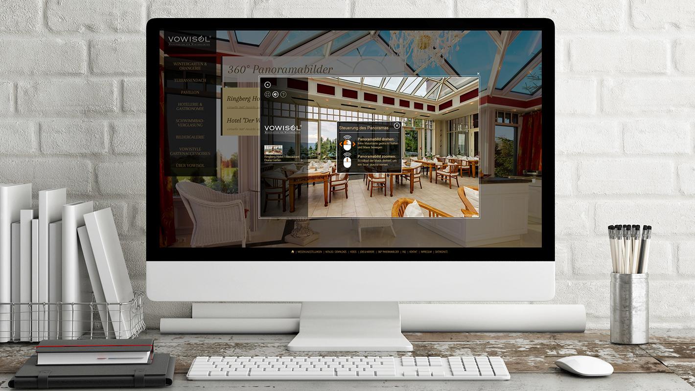 Panoramabilder Website Vowisol